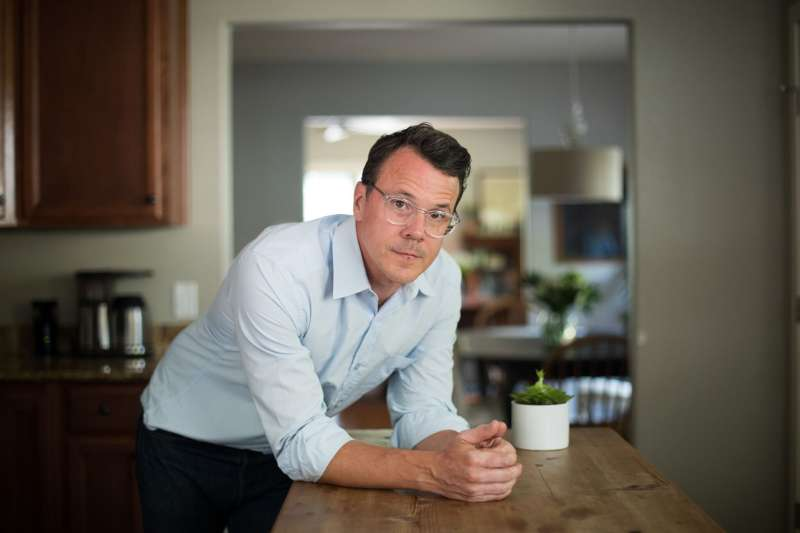 """Following emergency treatment for a heart attack in 2017, Drew Calver says he's nervous about having a six-figure bill hanging over his family's financial future. """"I am stuck in the middle of this convoluted, flawed system,"""" he says."""