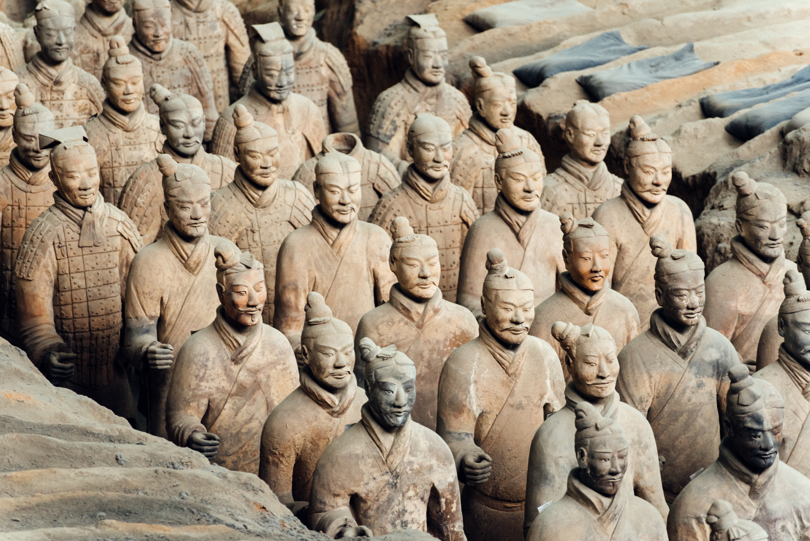 Terracotta Army in Xian, China