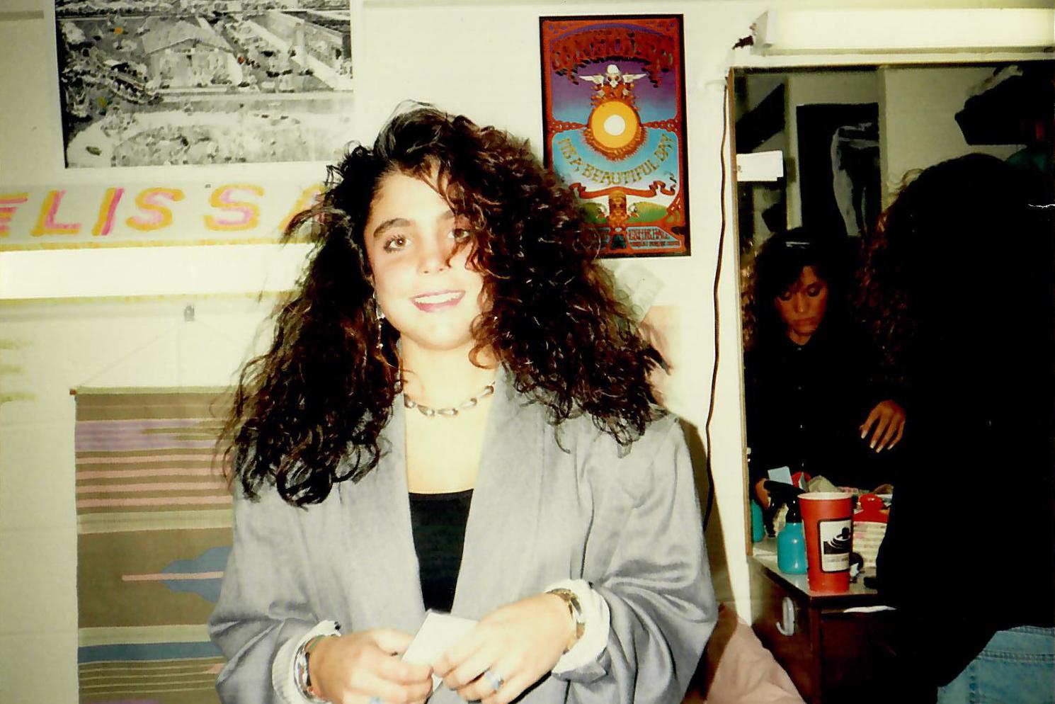 Frankel at Boston University in 1988