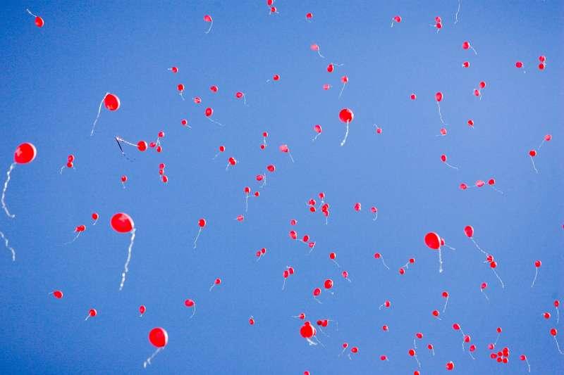 Plastic Straws Balloons