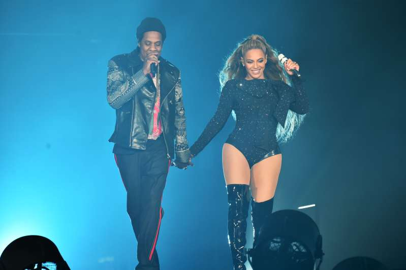 Beyonce and Jay-Z  On the Run II  Tour - Glasgow