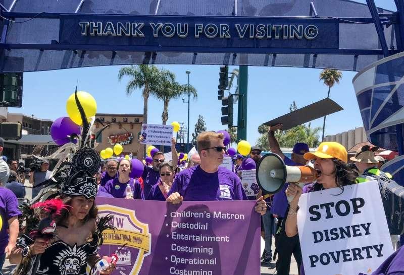 Disney labor protests