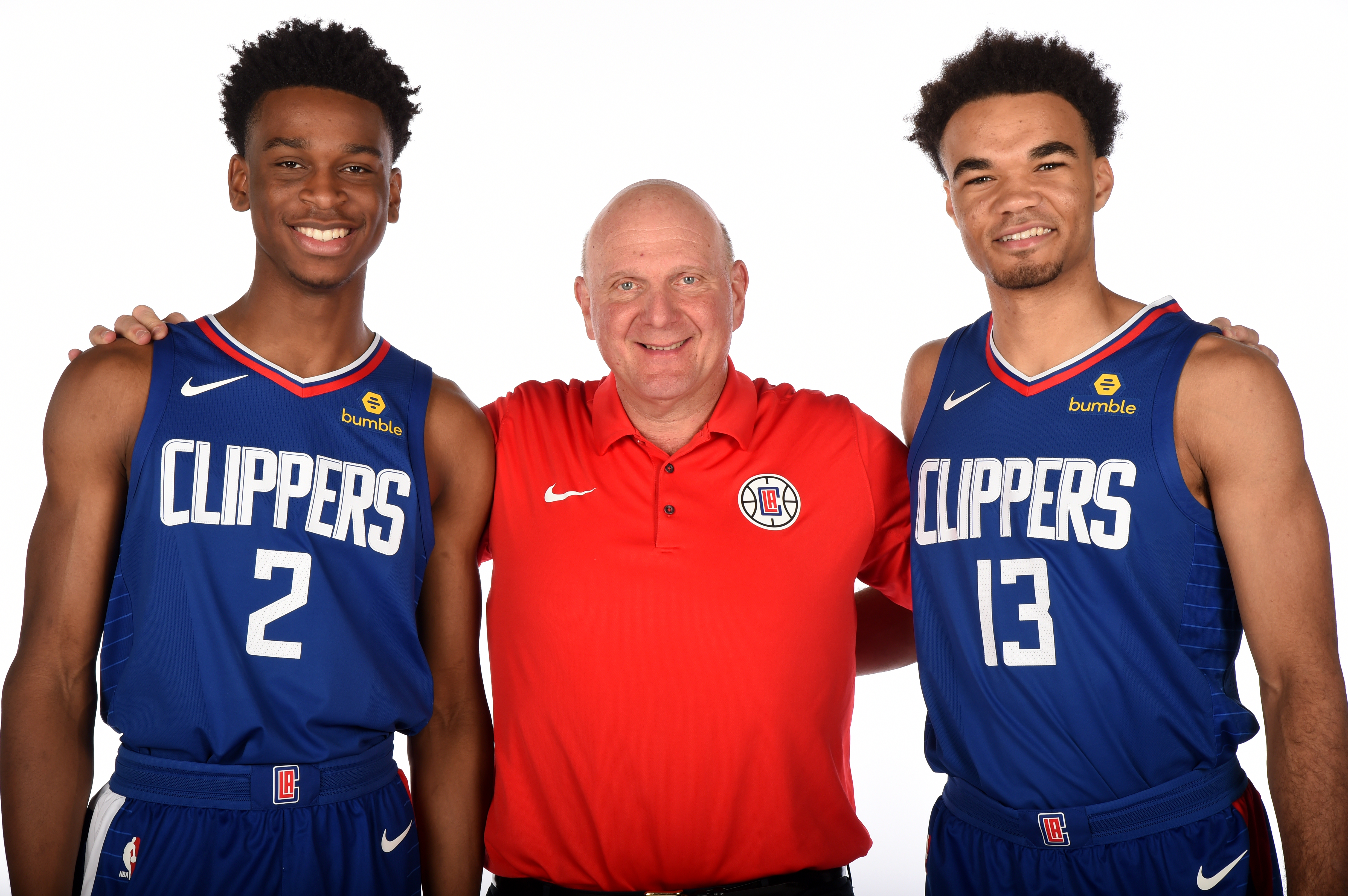 LA Clippers Draft Press Conference and Portraits