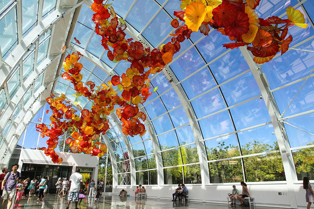 Chihuly Garden and Glass, Seattle, WA.