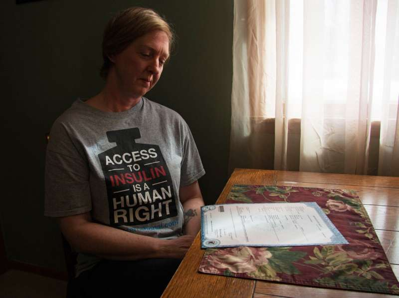 It shouldn't have happened,  says Nicole Smith-Holt of Richfield, Minn.,  looking at the death  certificate of her son Alec Raeshawn Smith.