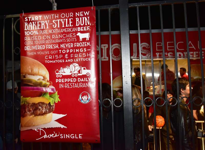 Wendy's Food Truck Rolls Into Rolling Stone Live