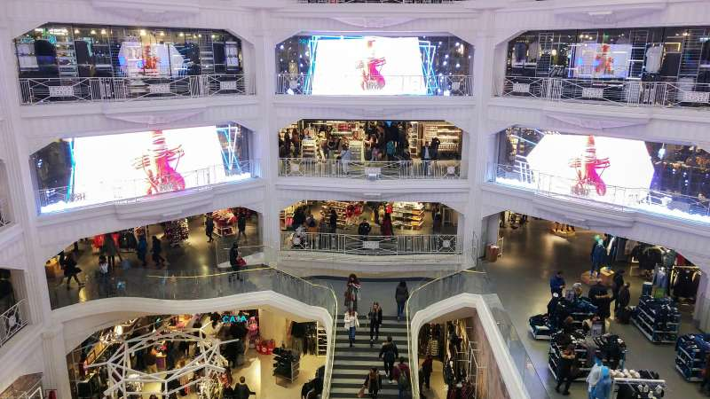 Primark has in Gran Vía, its largest store in all of Spain