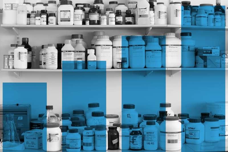 Shelves Full of Medications