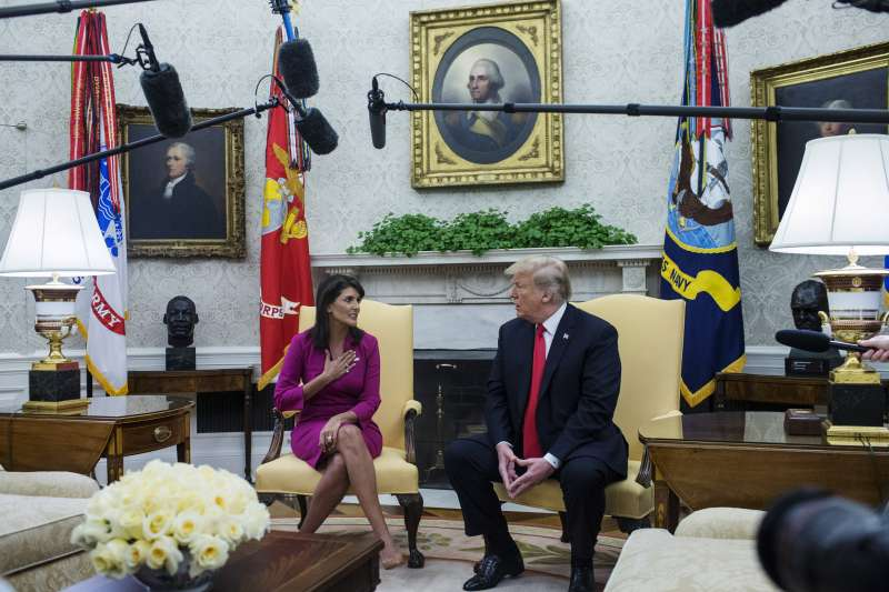 Nikki Haley To Leave As UN Ambassador At Year's End