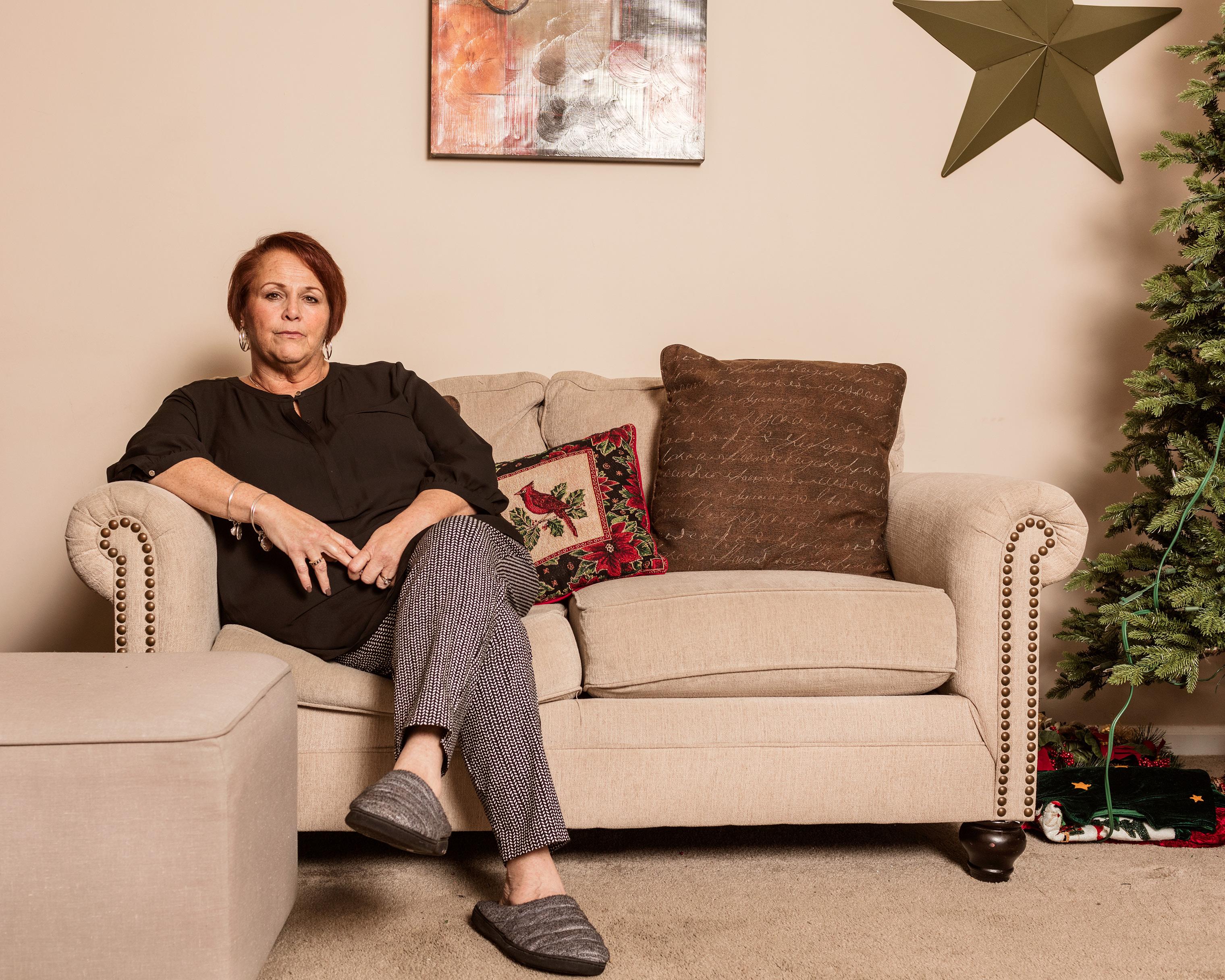 Ann Marie Reinhart Smith at her home in Durham, N.C.