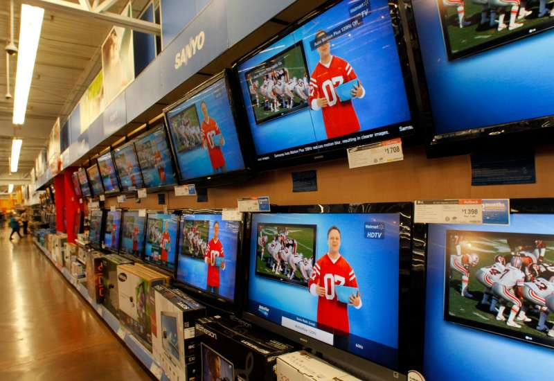 Walmart is loaded with TV deals for Cyber Monday.