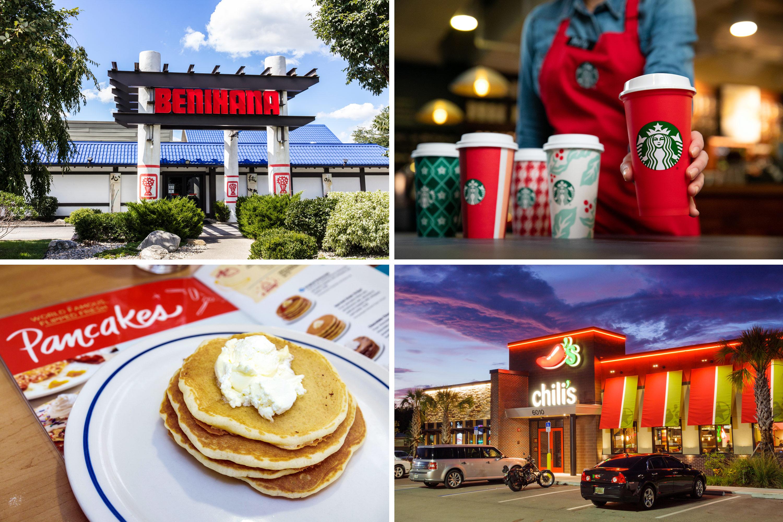 Restaurants Open On Christmas Day Little Rock 2021 Restaurants Open Christmas Day 2018 Ihop Starbucks Hours Money