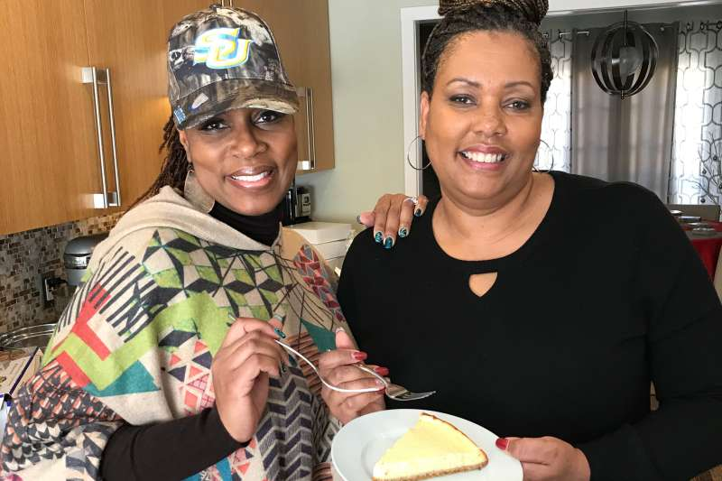 Sisters Jaqi Wright  and Nikki Howard, founders of The Furlough Cheesecake
