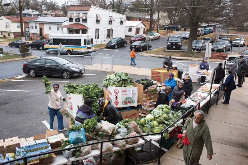 The Capital Area Food Bank in Prince George's County