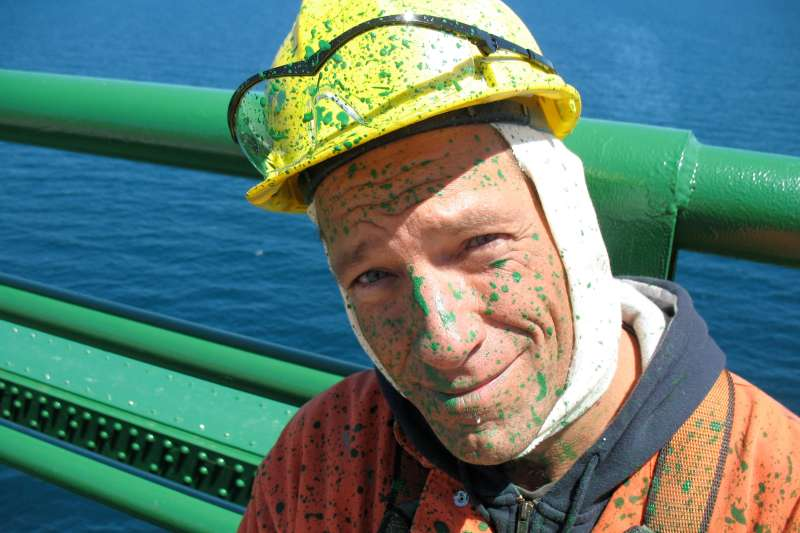 DIRTY JOBS, host Mike Rowe, 'Bridge Painter', (Season 3, aired August 7, 2007), 2003-.
