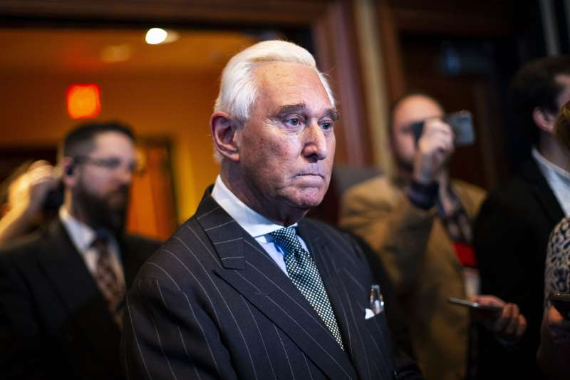 File: Trump Ally Roger Stone Arrested On Seven Charges By Mueller's Russian Investigation