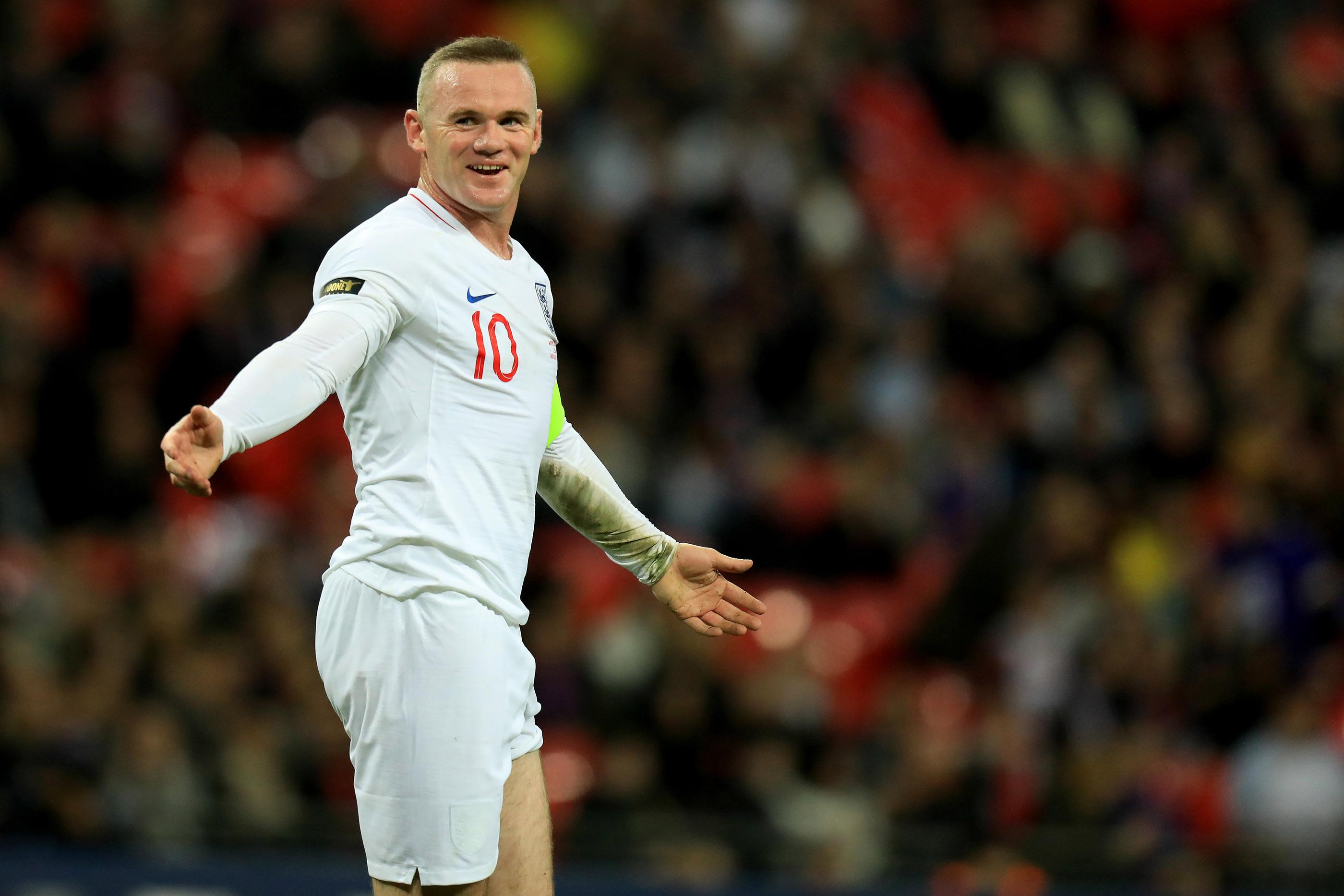 2018 Football Wayne Rooney Foundation International Friendly Englnad v USA Nov 15th