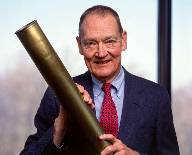 Portrait Of John C Bogle