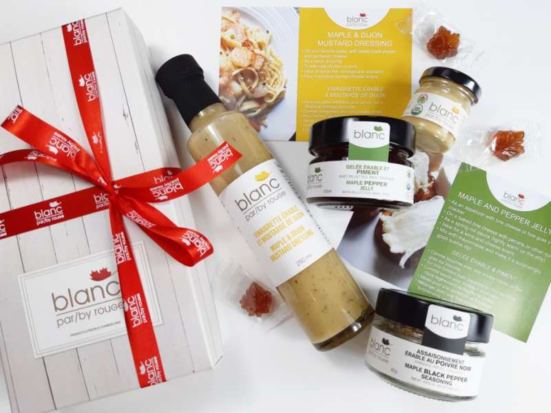 Rouge Maple Glamour Gourmet Gift Set, one of the many goodies that high-profile nominees will enjoy.