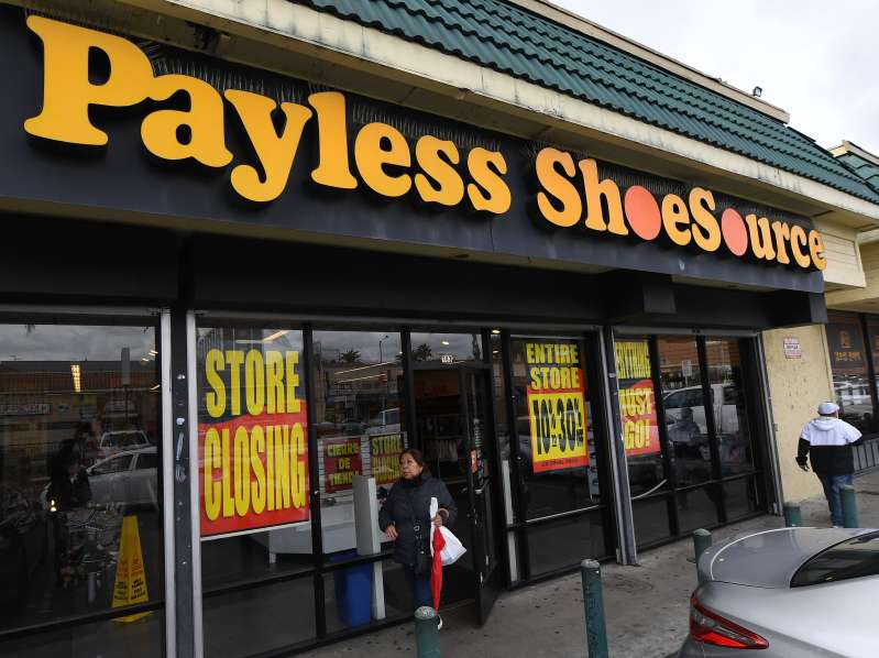 US-ECONOMY-PAYLESS_SHOES