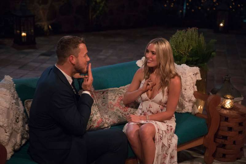 Colton Underwood and Cassie on the 23rd edition of ABC's hit romance reality series  The Bachelor  on The ABC Television Network.