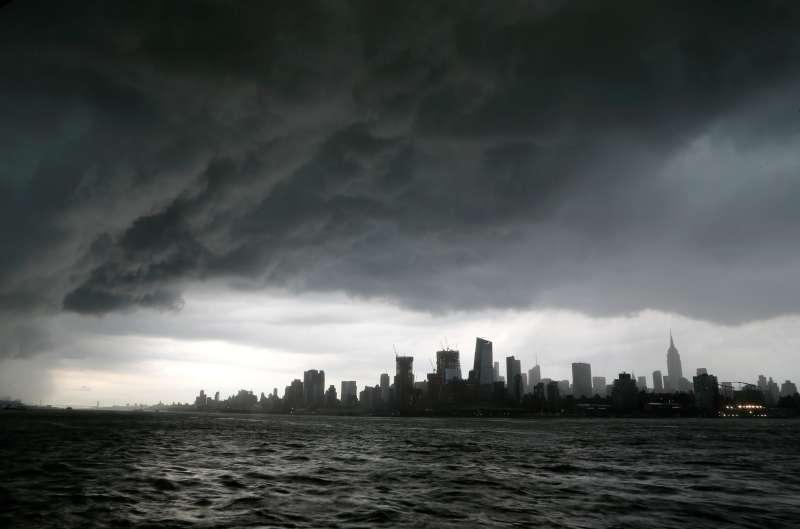 Storm Clouds Over New New York City