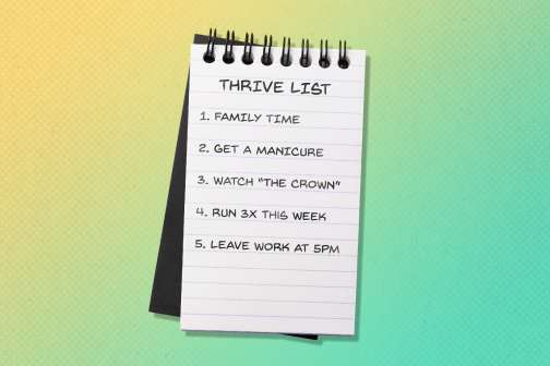 I Ditched My Budget and Created a 'Thrive 'List' — and it Helped Me Tackle My $100,000 Debt