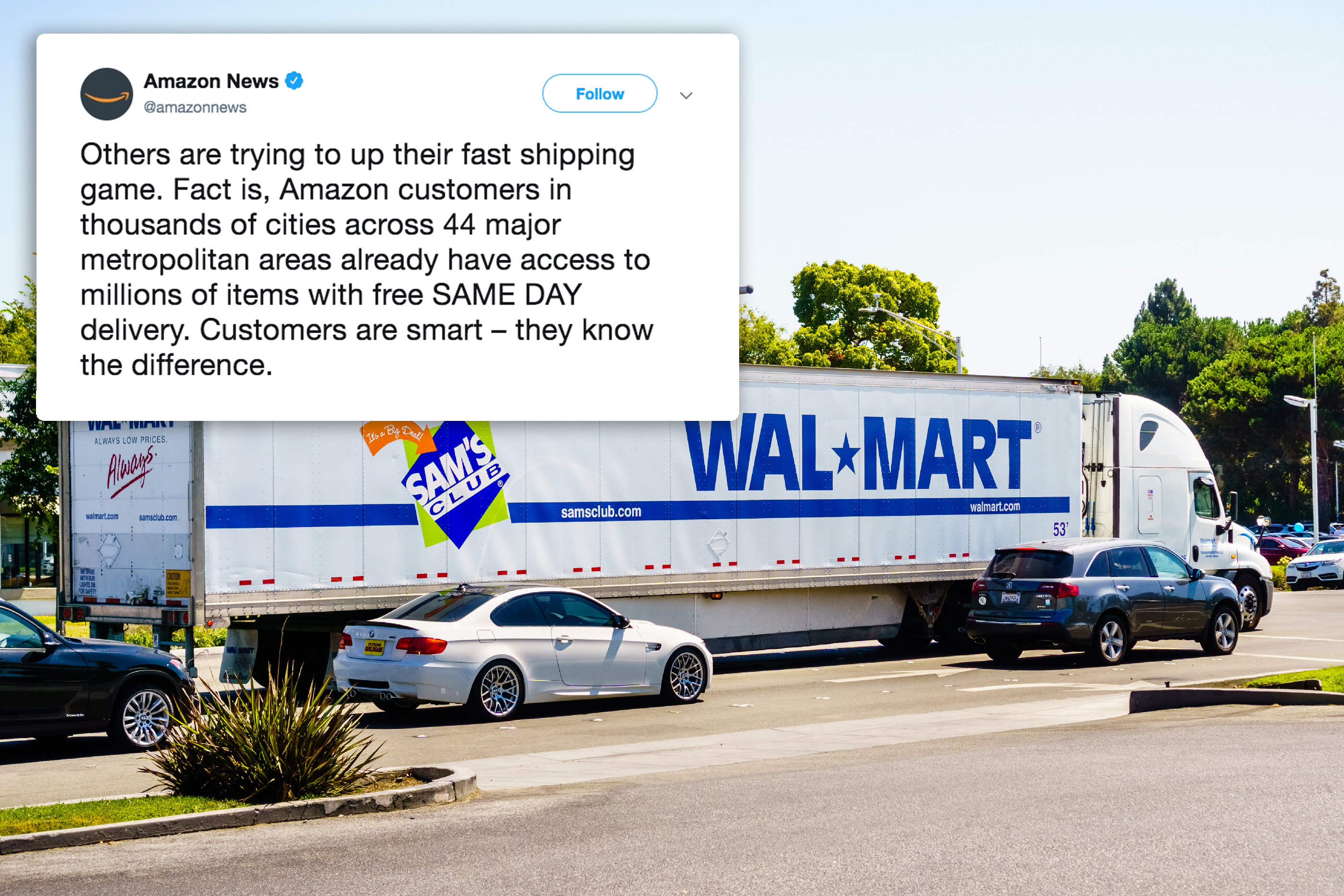 Amazon and Walmart Free Shipping Fast Free Delivery Deals   Money