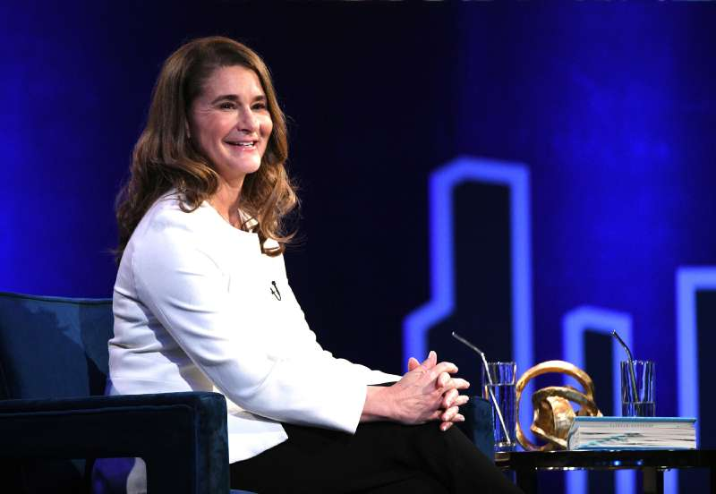 Melinda Gates speaks onstage at Oprah's SuperSoul Conversations at PlayStation Theater on February 05, 2019 in New York City.