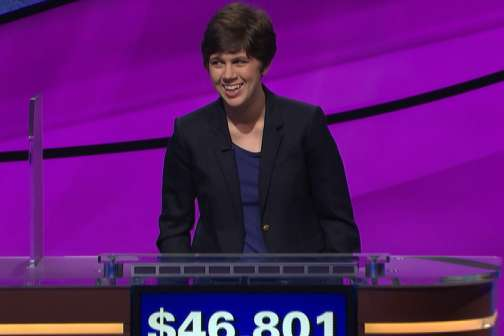 A Jeopardy! Champ Falls: How This Librarian Beat a Professional Gambler at His Own Game