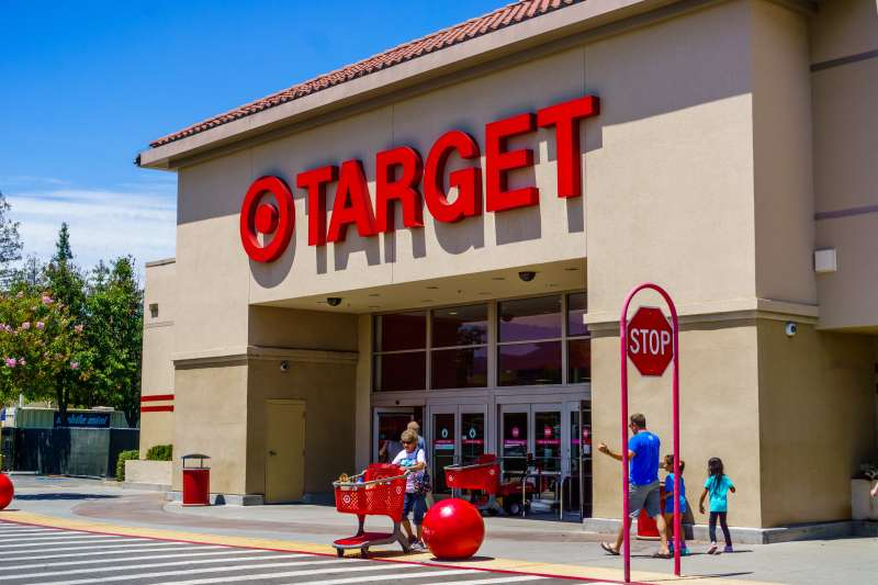 A Target store located in south San Francisco bay area