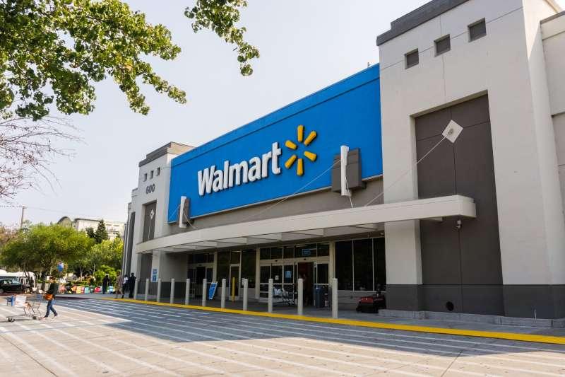 Walmart store entrance
