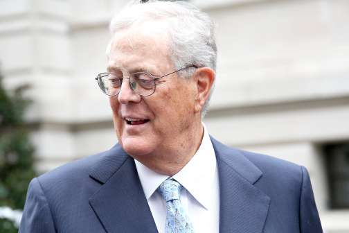 Conservative Donor David Koch Just Died. Here's How He Used His $59 Billion Fortune to Transform American Politics