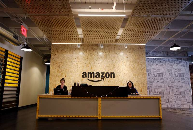 New Amazon Offices In Boston's Fort Point