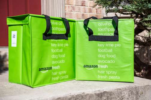 Amazon Prime Members Can Now Get Groceries Delivered for Free