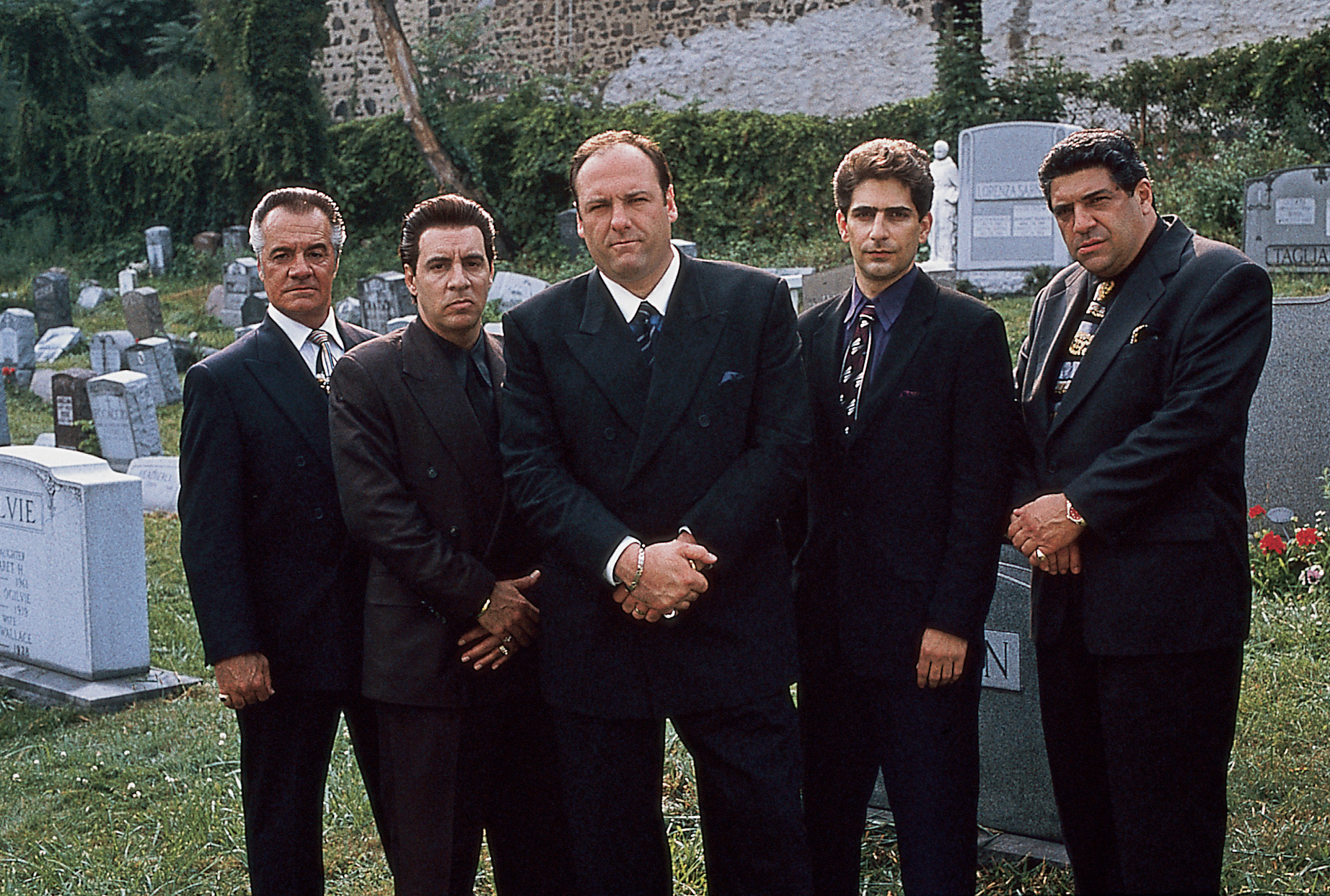 Vincent Pastore;James Gandolfini;Tony Sirico;Steve Van Zandt;Michael Imperioli