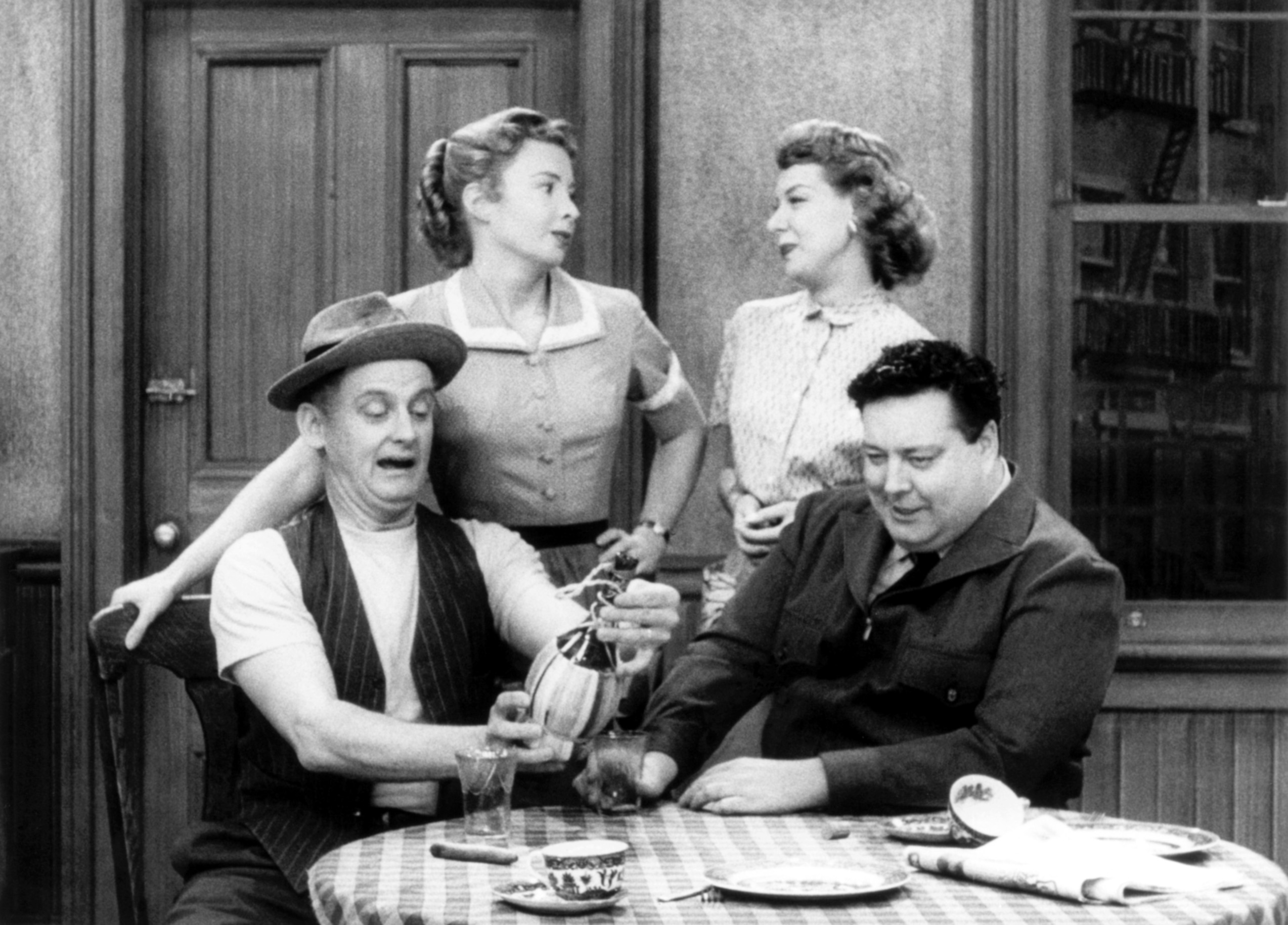THE HONEYMOONERS, Art Carney, Audrey Meadows, Joyce Randolph, Jackie Gleason, 'Head of the House', (