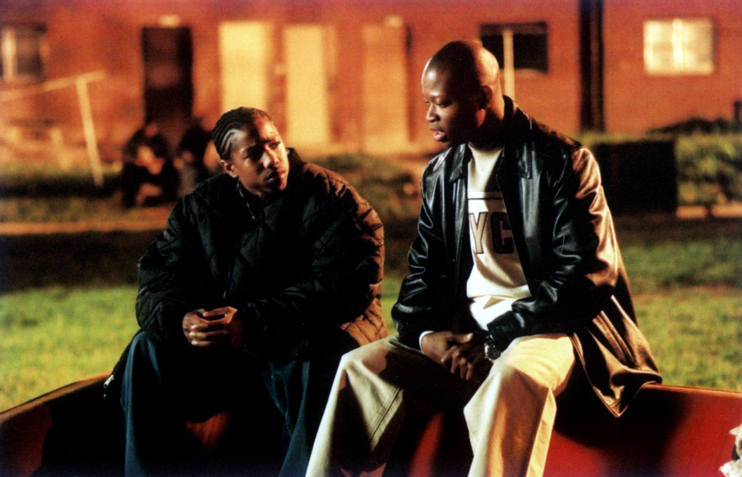 THE WIRE, Larry Gilliard Jr. (right), (Season 1), 2002-08. © HBO / Courtesy: Everett Collection