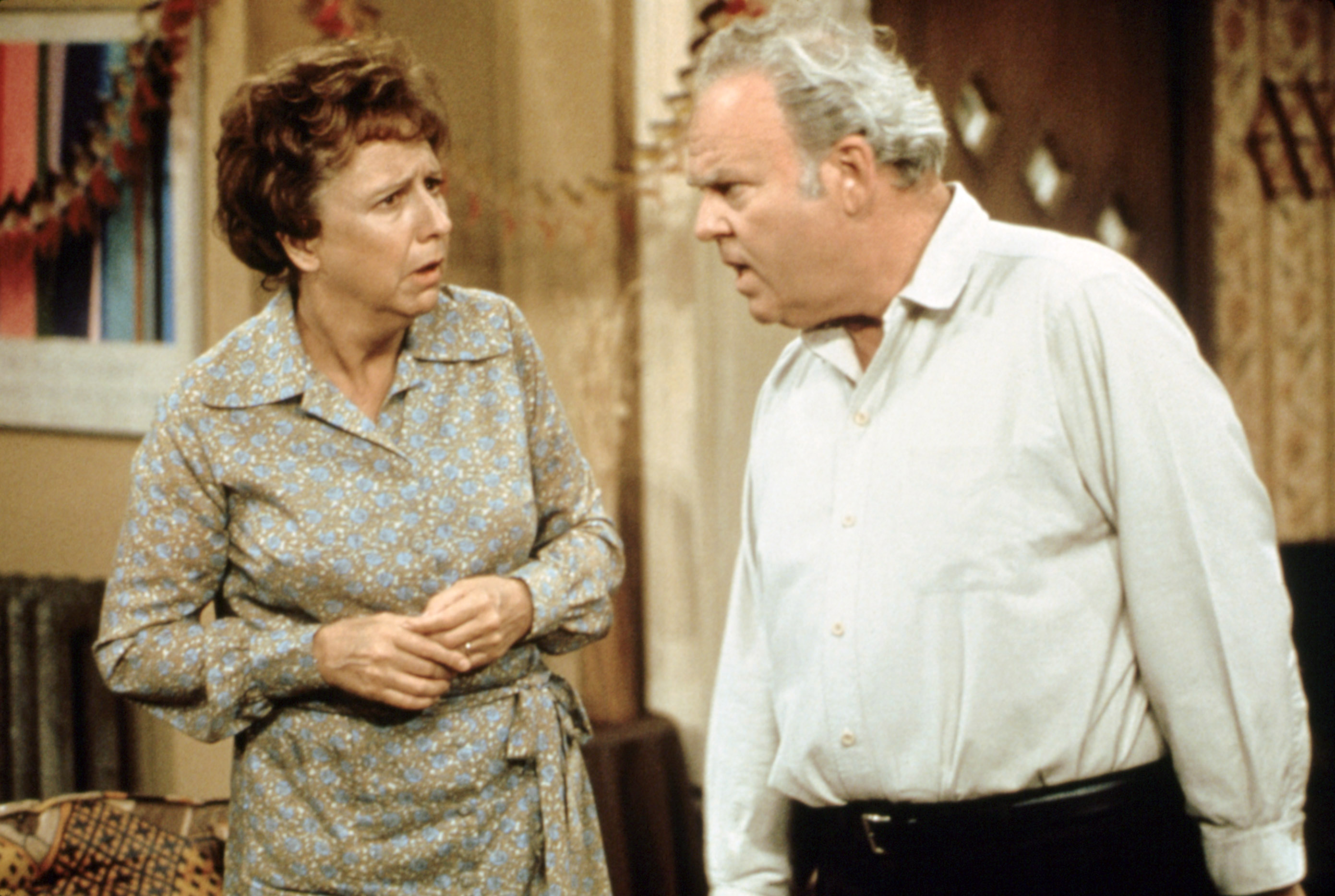 ALL IN THE FAMILY, Jean Stapleton, Carroll O'Connor, 1971-79