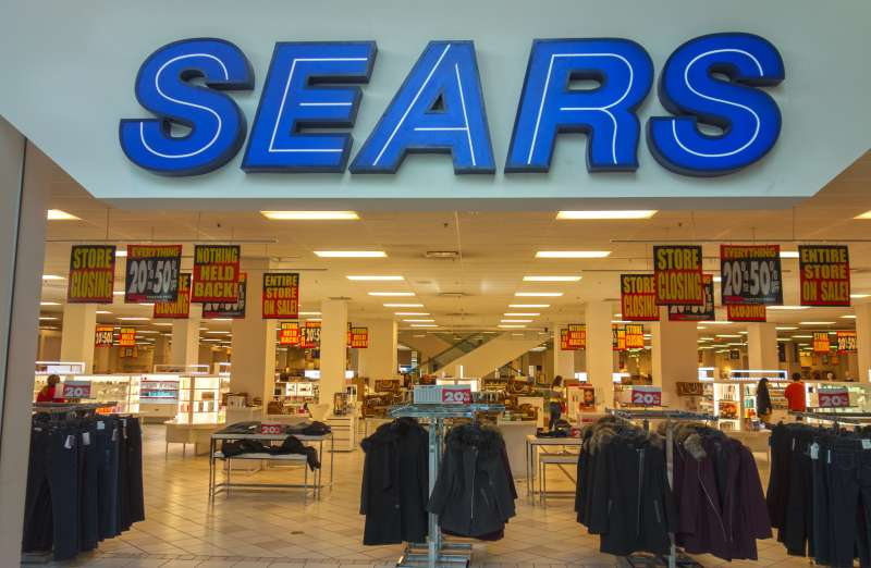 Sears Store Closure Sale in Calgary Alberta