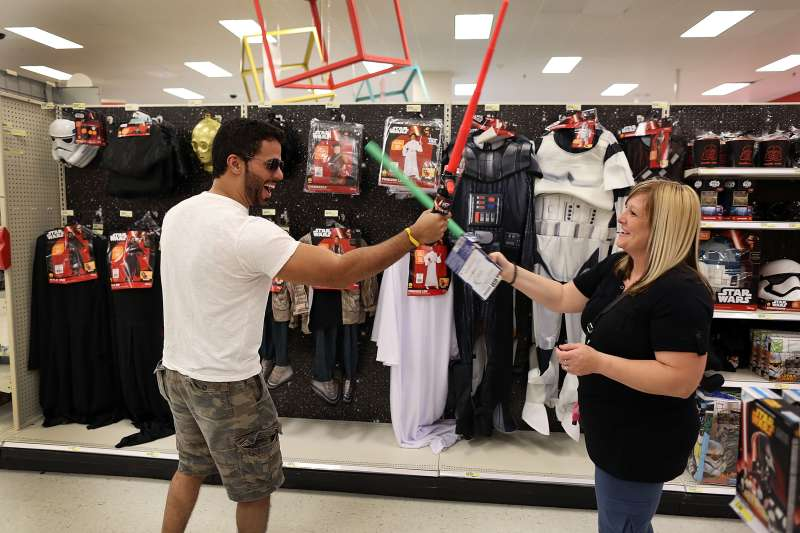 Star Wars Toys Hit Store Shelves Months Ahead Of Movie Release