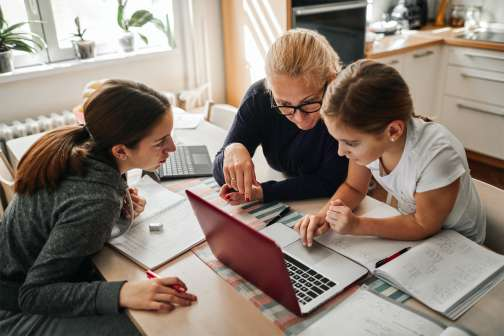 Working Parents Are at Their Wits' End with Virtual Schooling. Can Private 'Learning Pods' and $25-per-Hour Tutors Help?