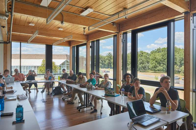 Hampshire College announced in January 2019 that it was struggling financially and looking to merge with another institution. So far, the college has managed to remain independent.