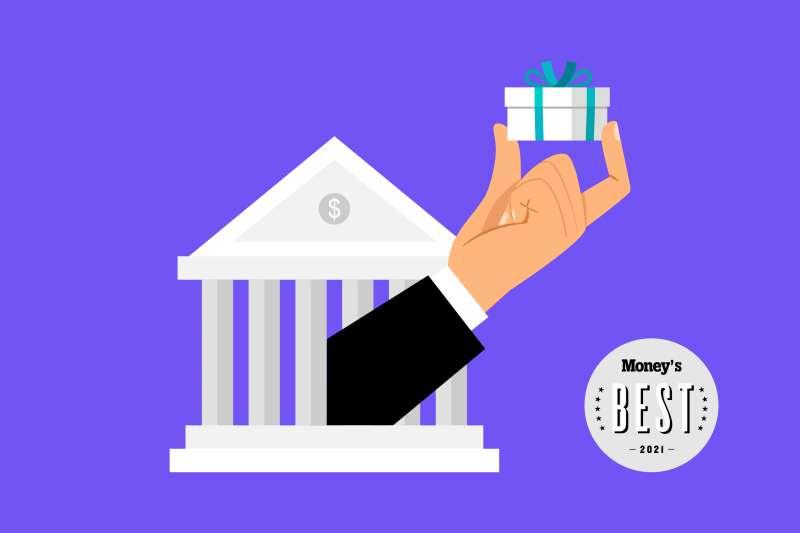2021 Money Best Bank Bonuses