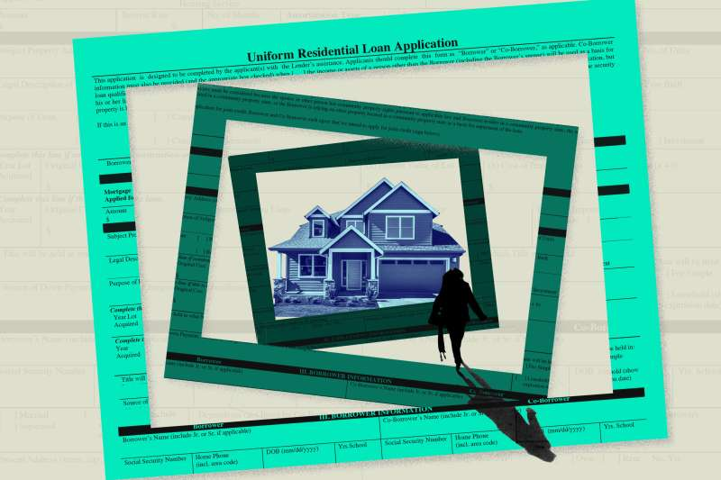 How Hard Will it Be to Get a Mortgage in 2021, a woman walking to the house that is surrendered by loan application