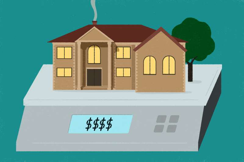 What Really Impacts a Home's Price, house on a calculator