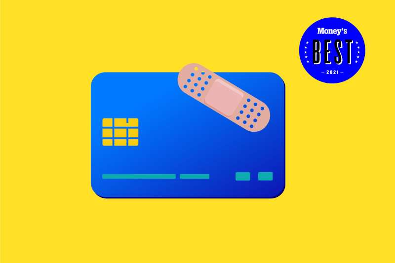 Credit Card With A Band-Aid