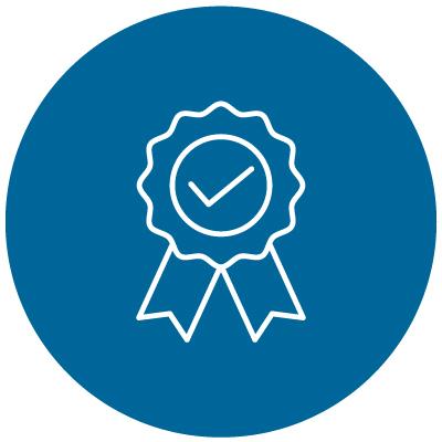 certification badge icon