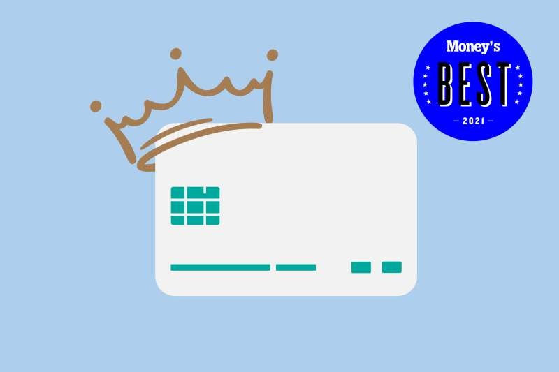 Credit Card With A Crown