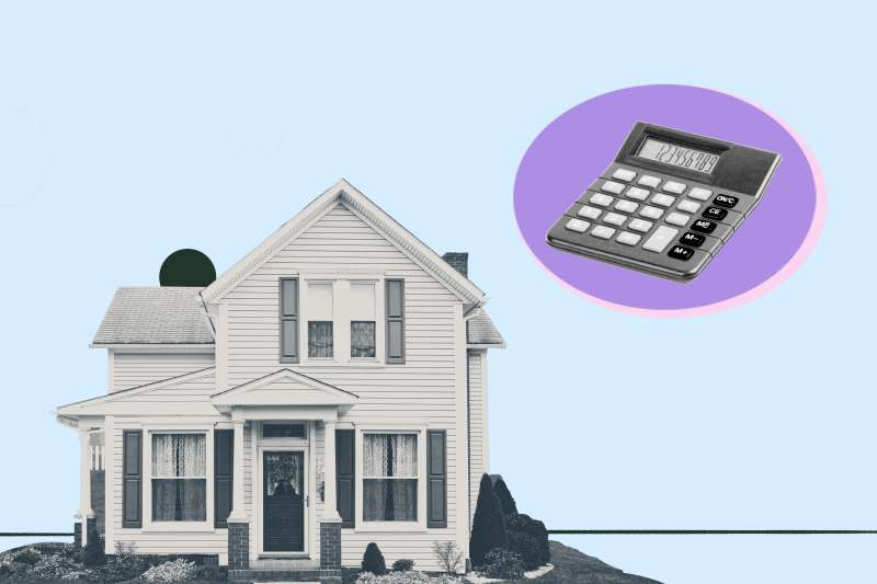 House with a calculator.